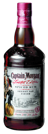 Captain Morgan Rum Spiced Ltd Edition Sherry Oak Finish